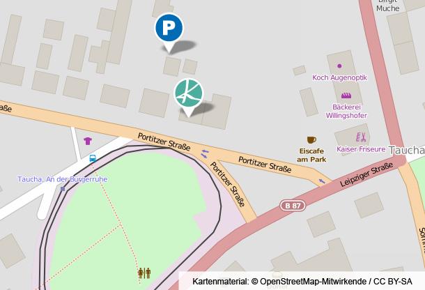Anfahrsskizze Parkplatz